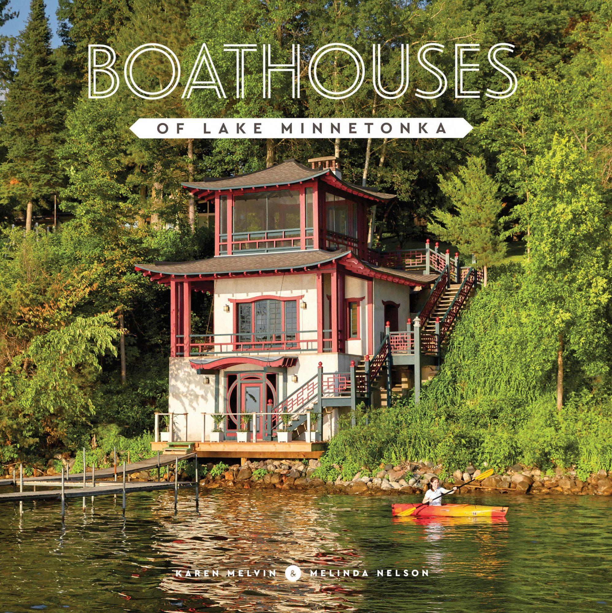 Boathouses Book Lake Minnetonka