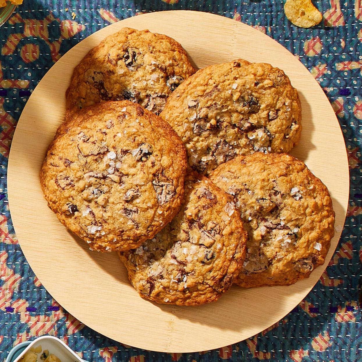 Jumbo Cherry-Oat Cookies