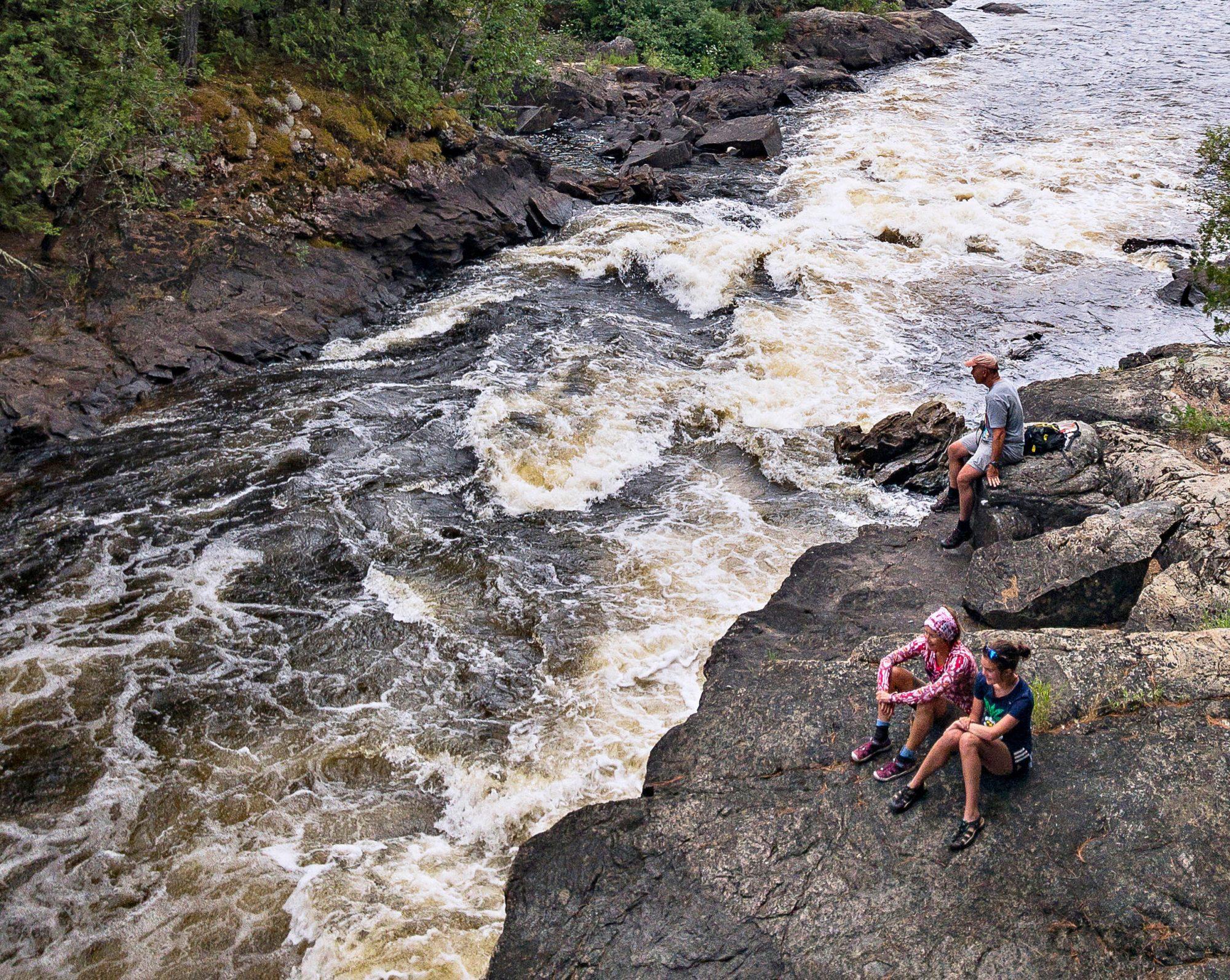 Basswood Falls Minnesota