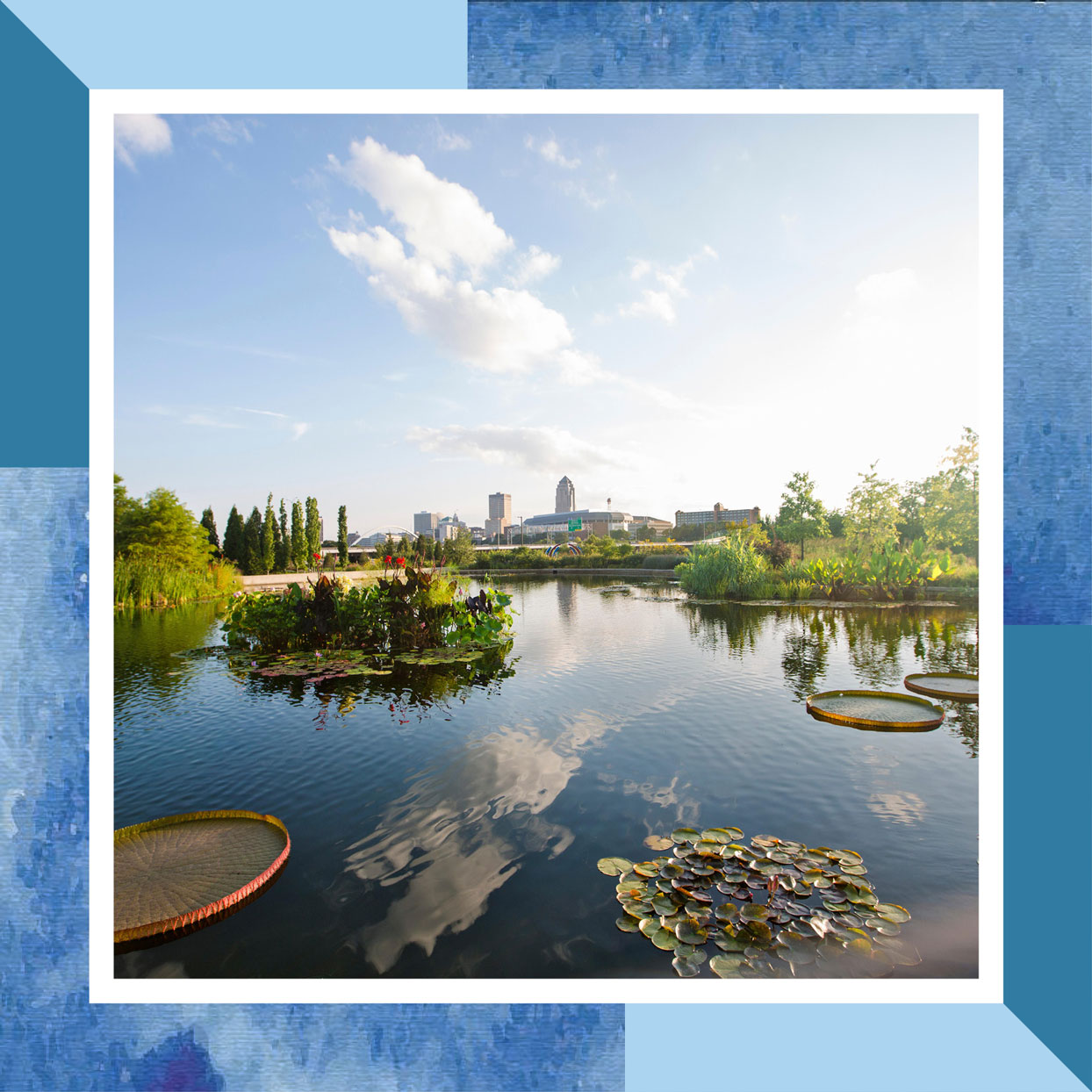 Water Garden, Greater Des Moines Botanical Garden