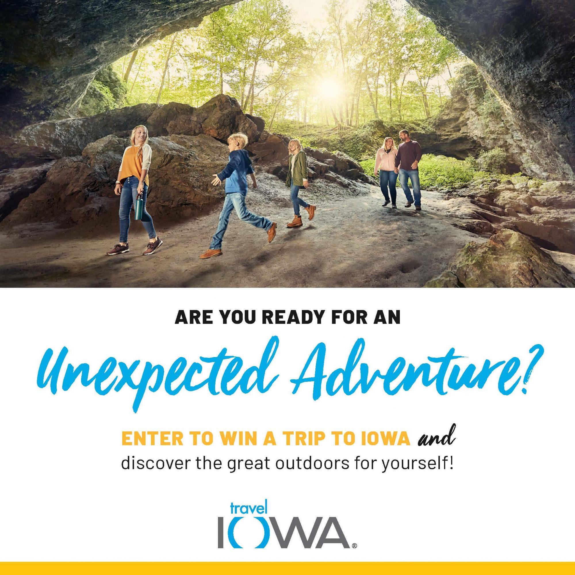 Travel Iowa sweepstakes
