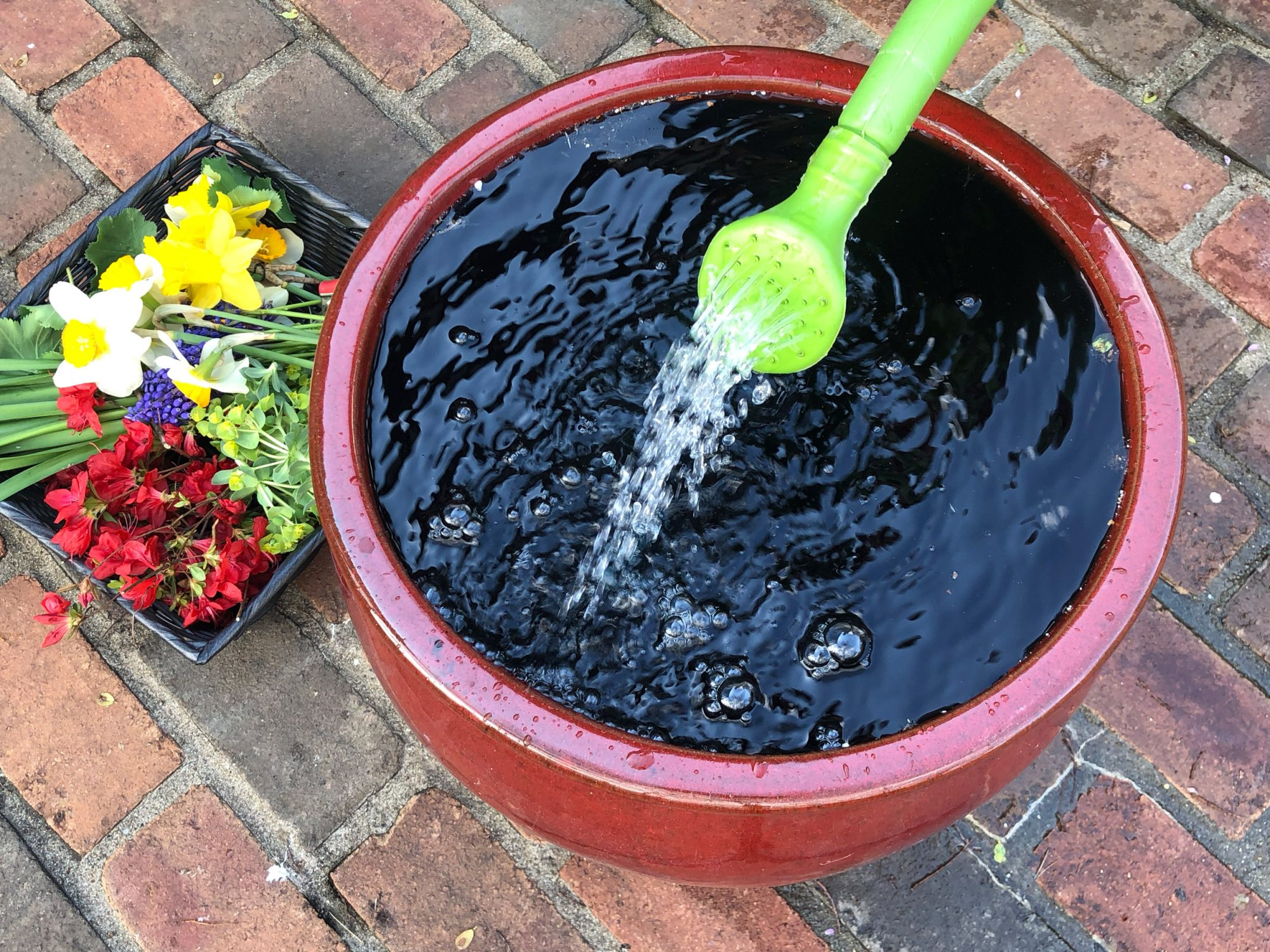 how to create a water mandala