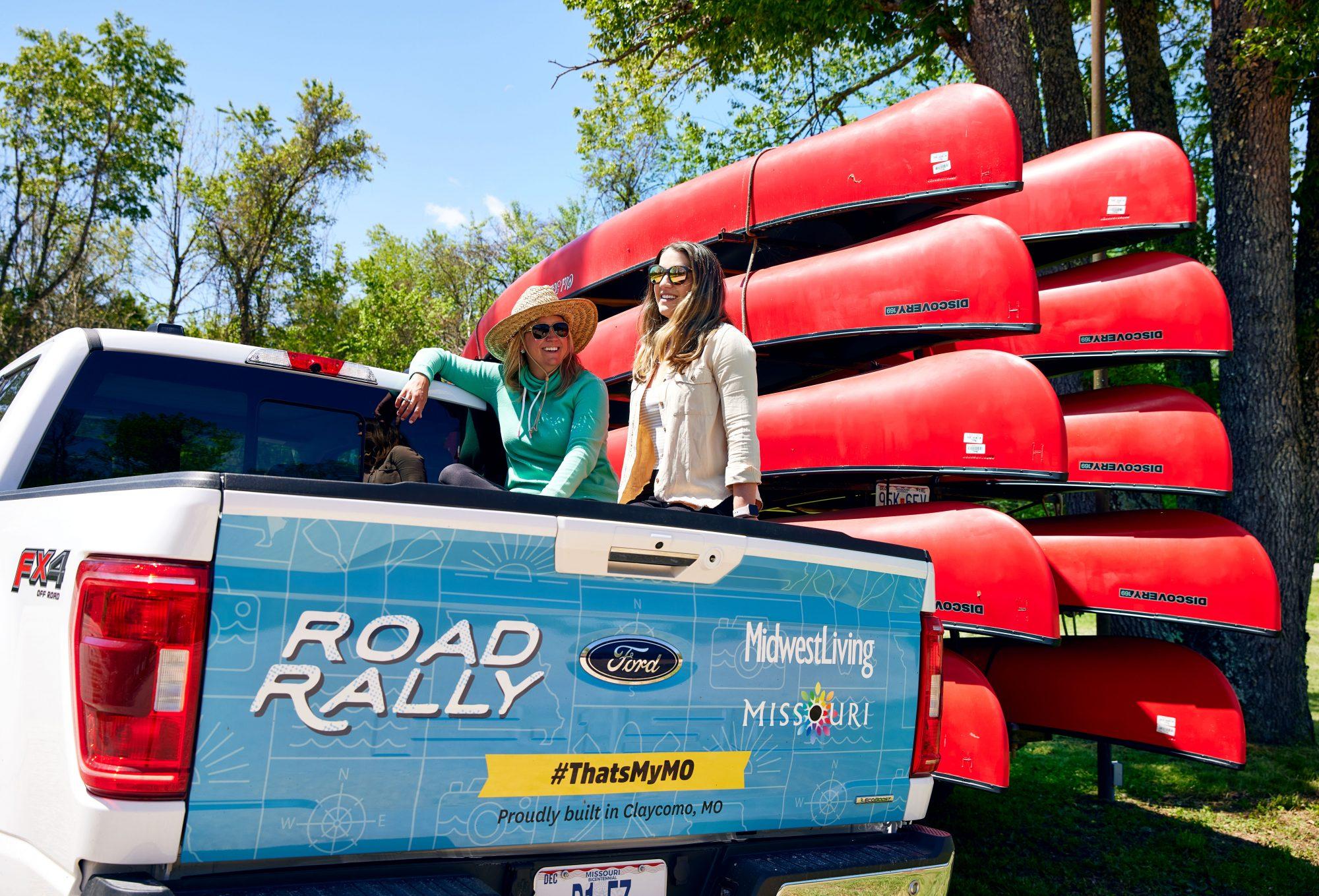 Harvey's Alley Spring Canoe Rental Missouri Road Rally 2021