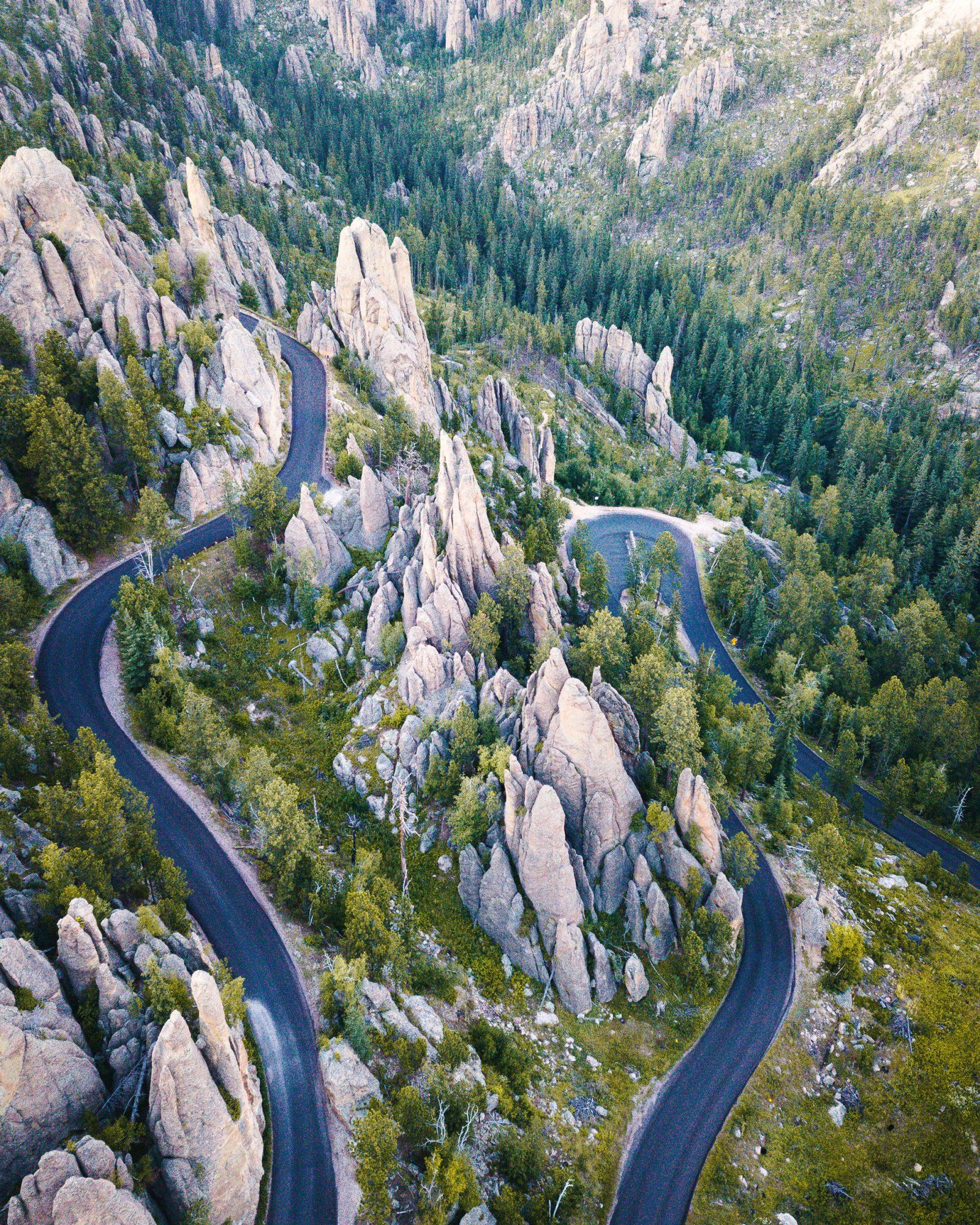 Needles Highway Black Hills South Dakota