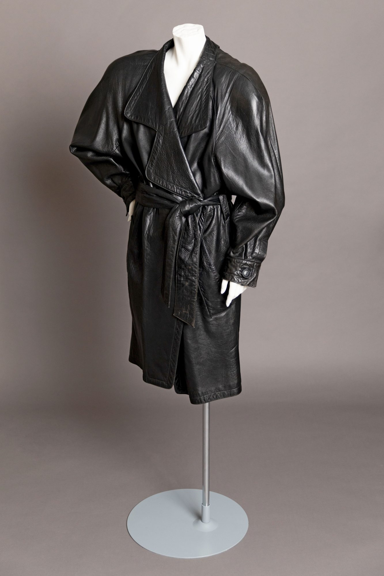 Fatal Attraction Leather Coat