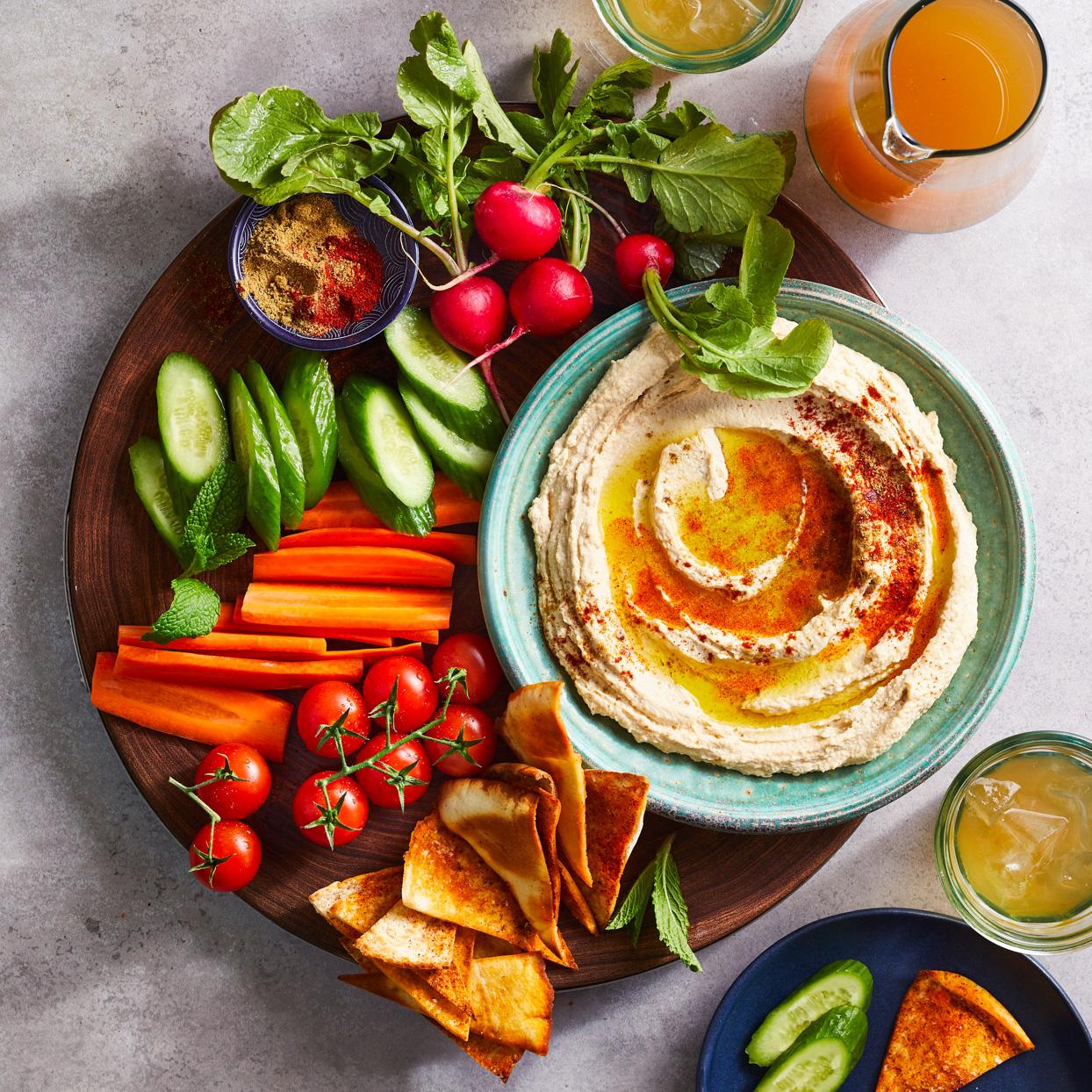 Syrian Hummus