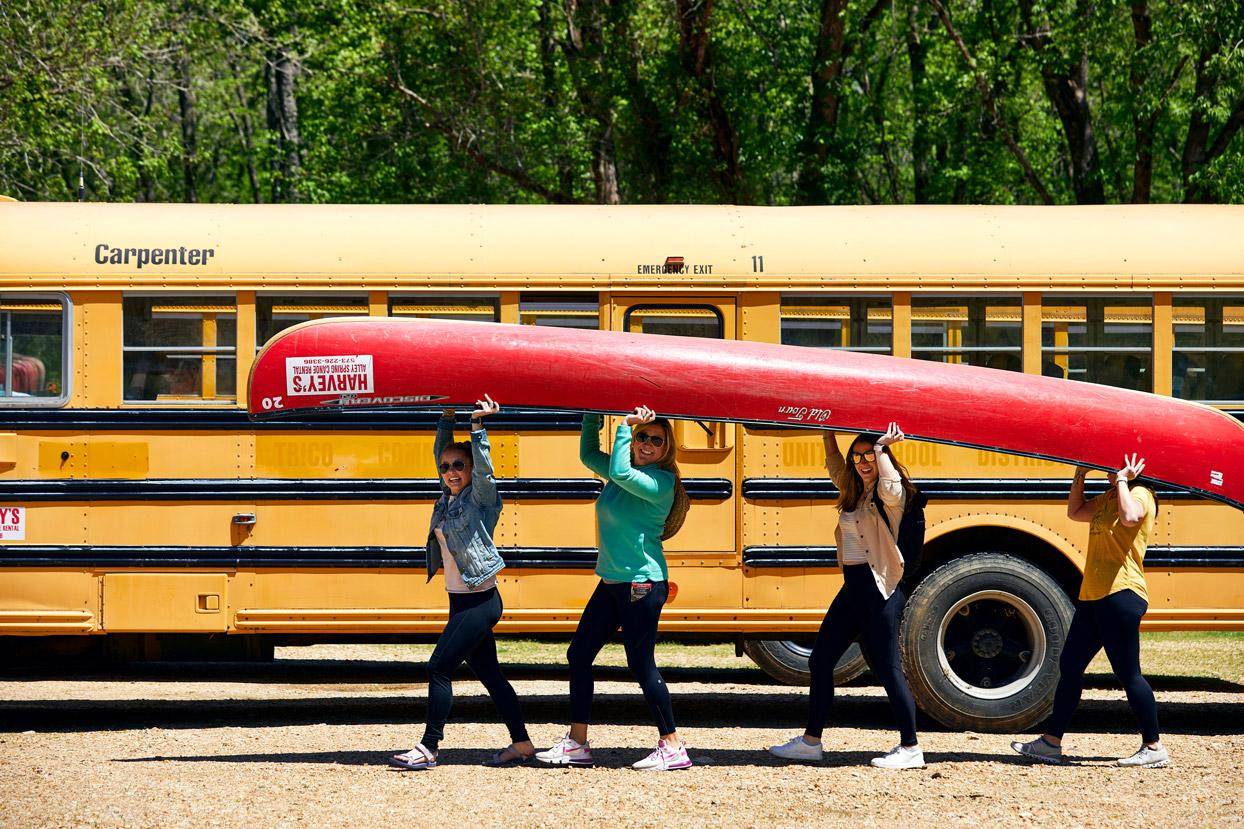 Harvey's Canoe Rental