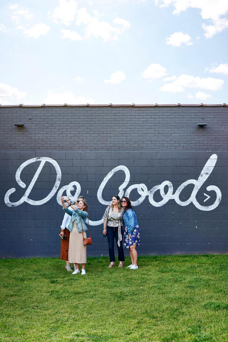 Do Good mural in Springfield, MO
