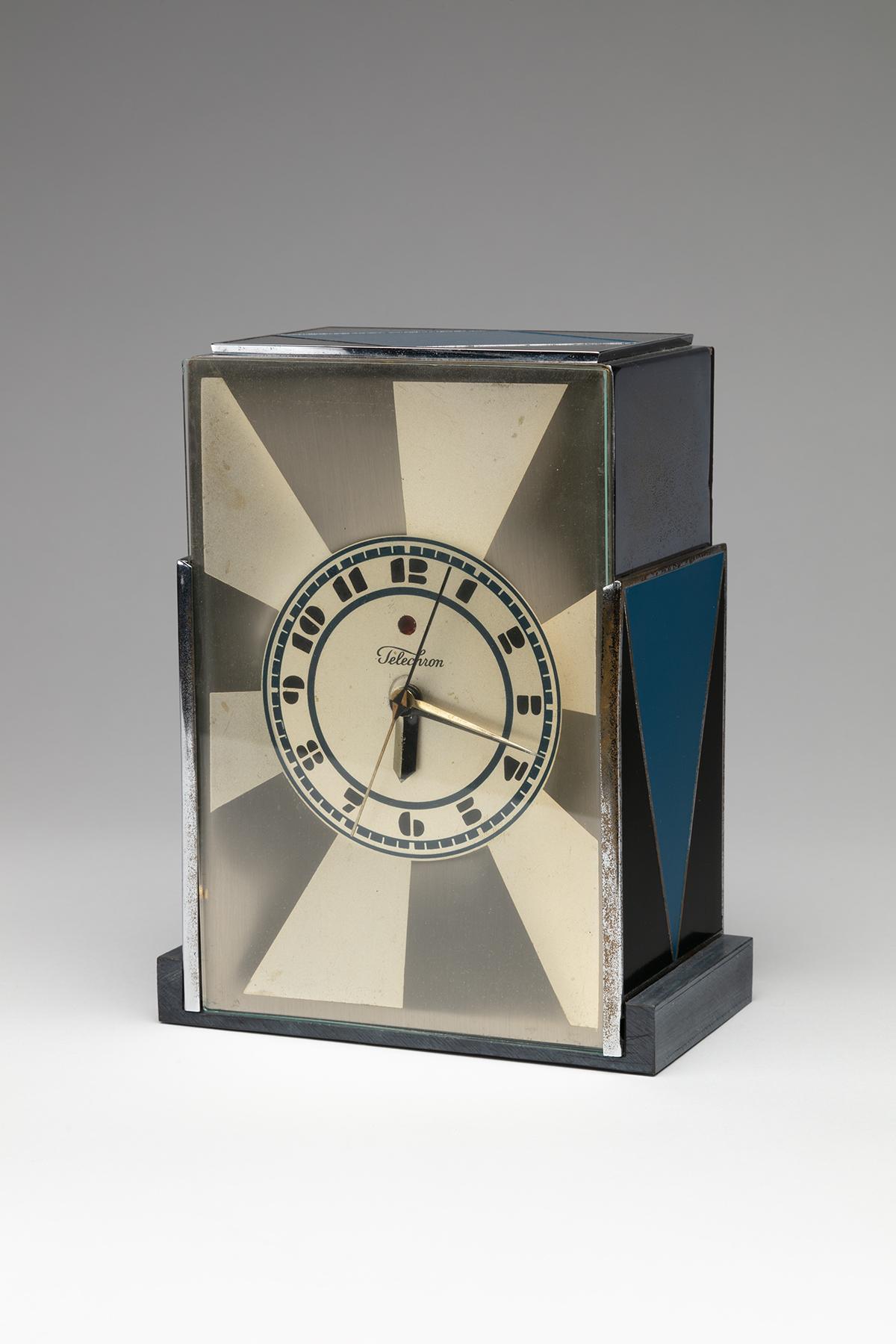 Modernique Clock designed by Paul T. Frankl
