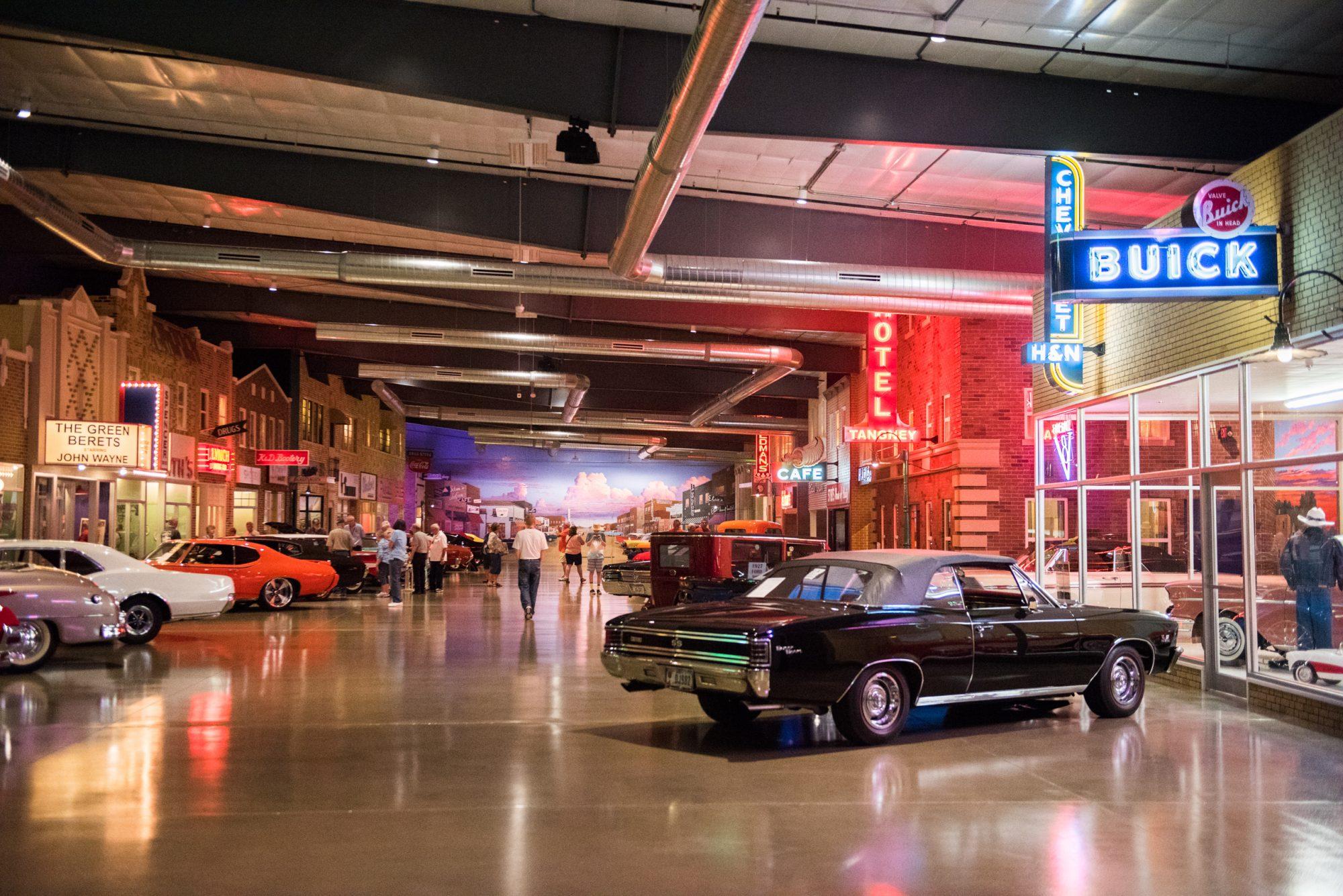 Okoboji Classic Cars showroom
