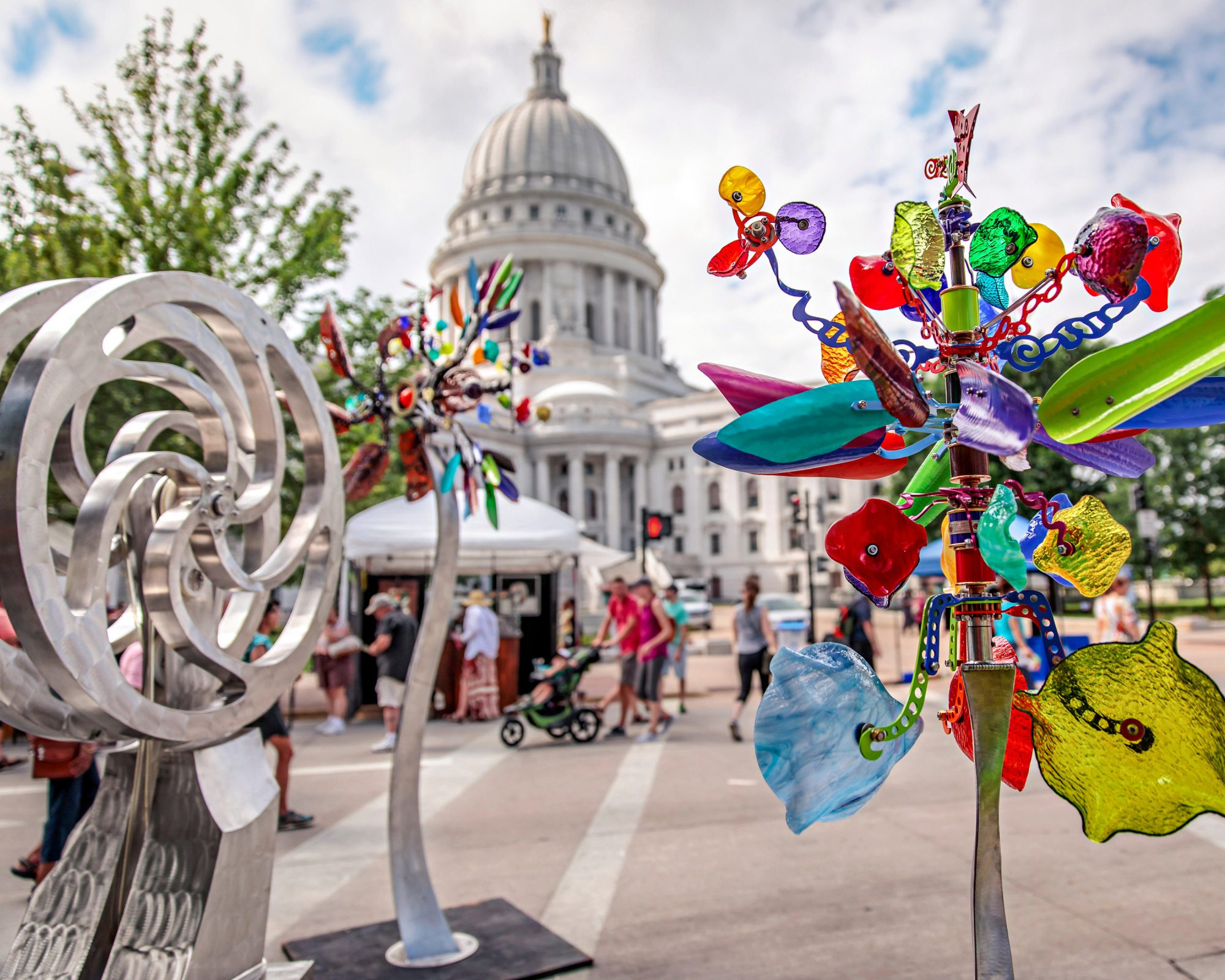 Art Fair on the Square Madison Wisconsin