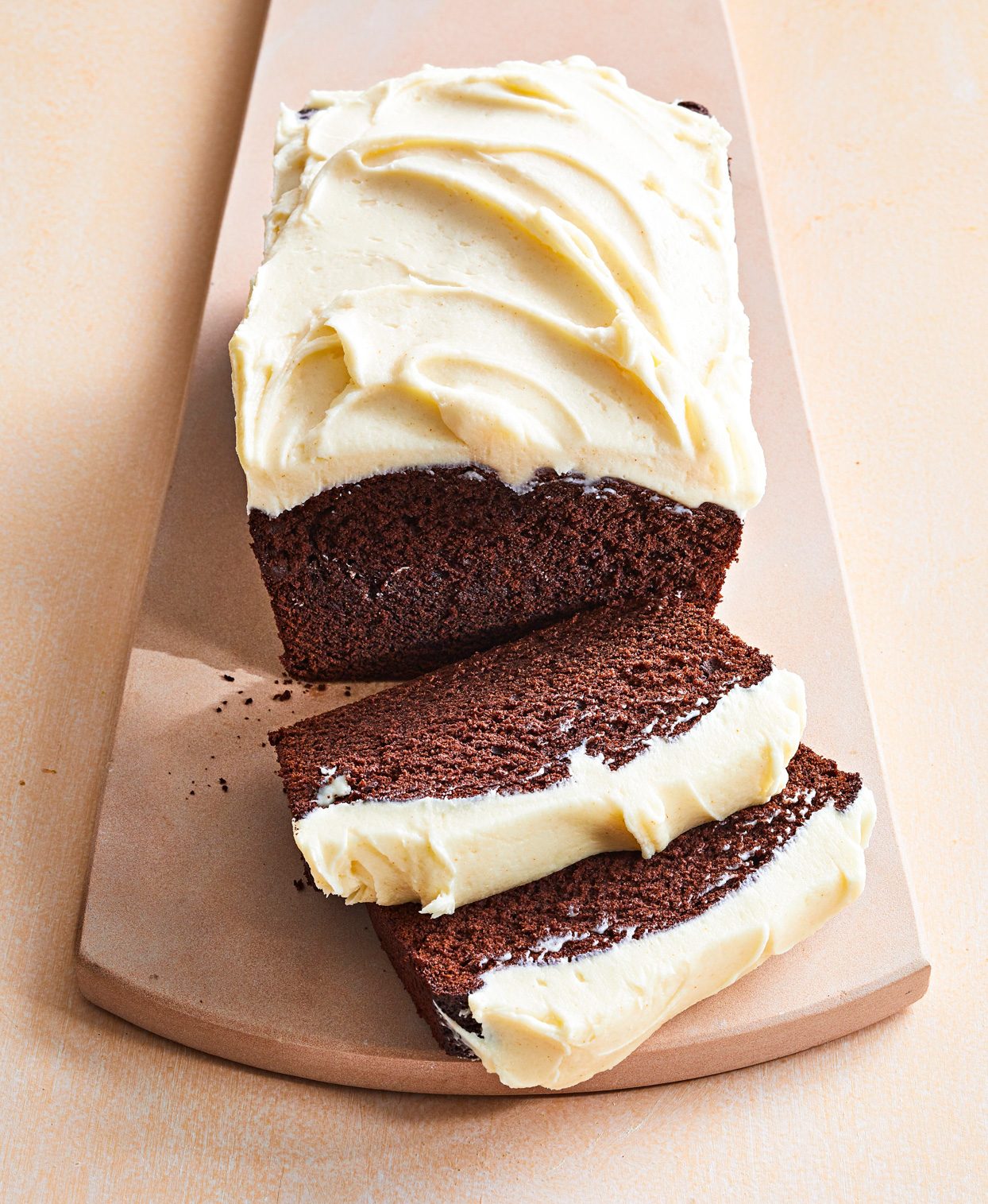 Cocoa Gingerbread with Heaven Frosting