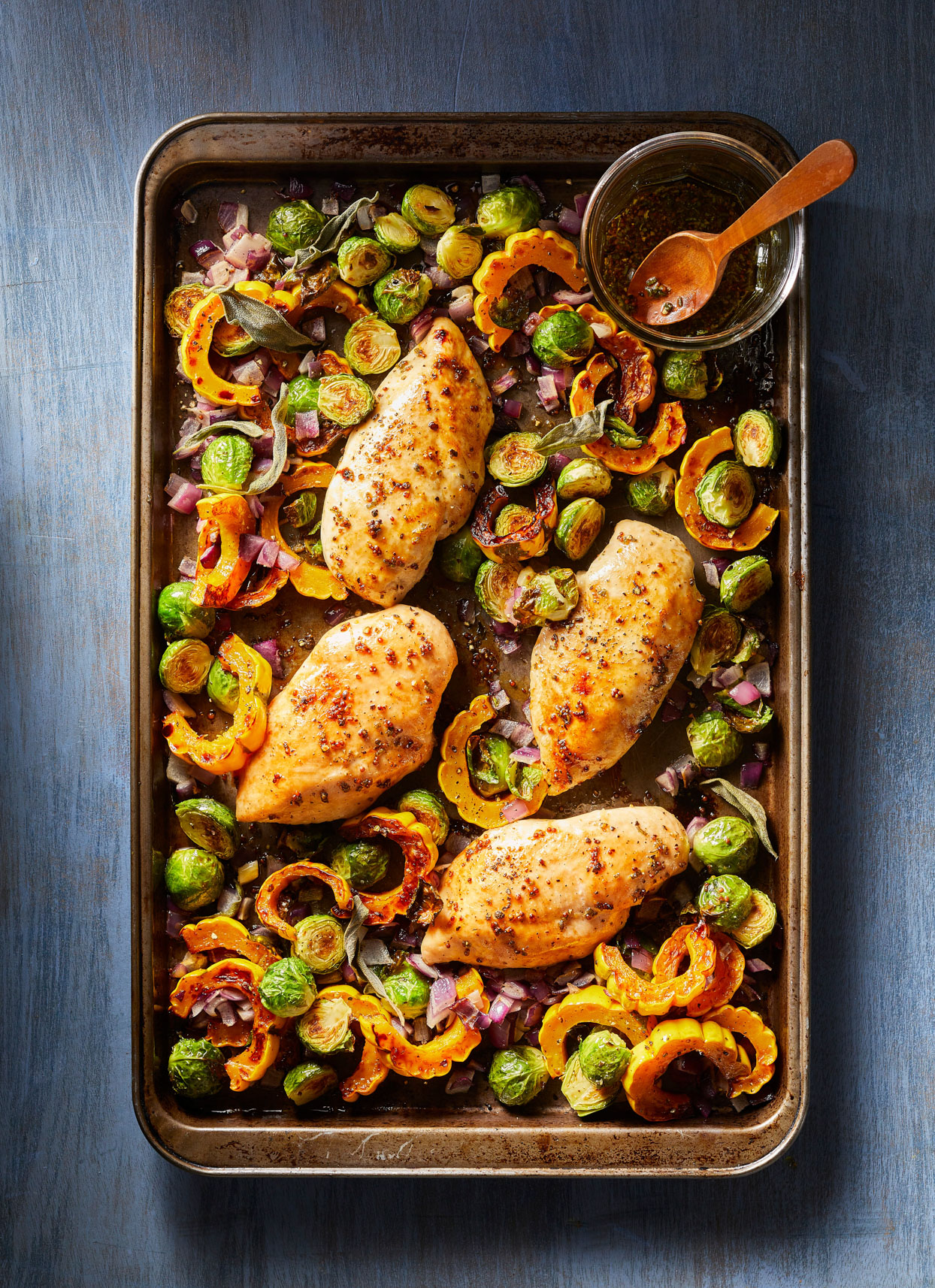Sheet-Pan Chicken and Vegetables