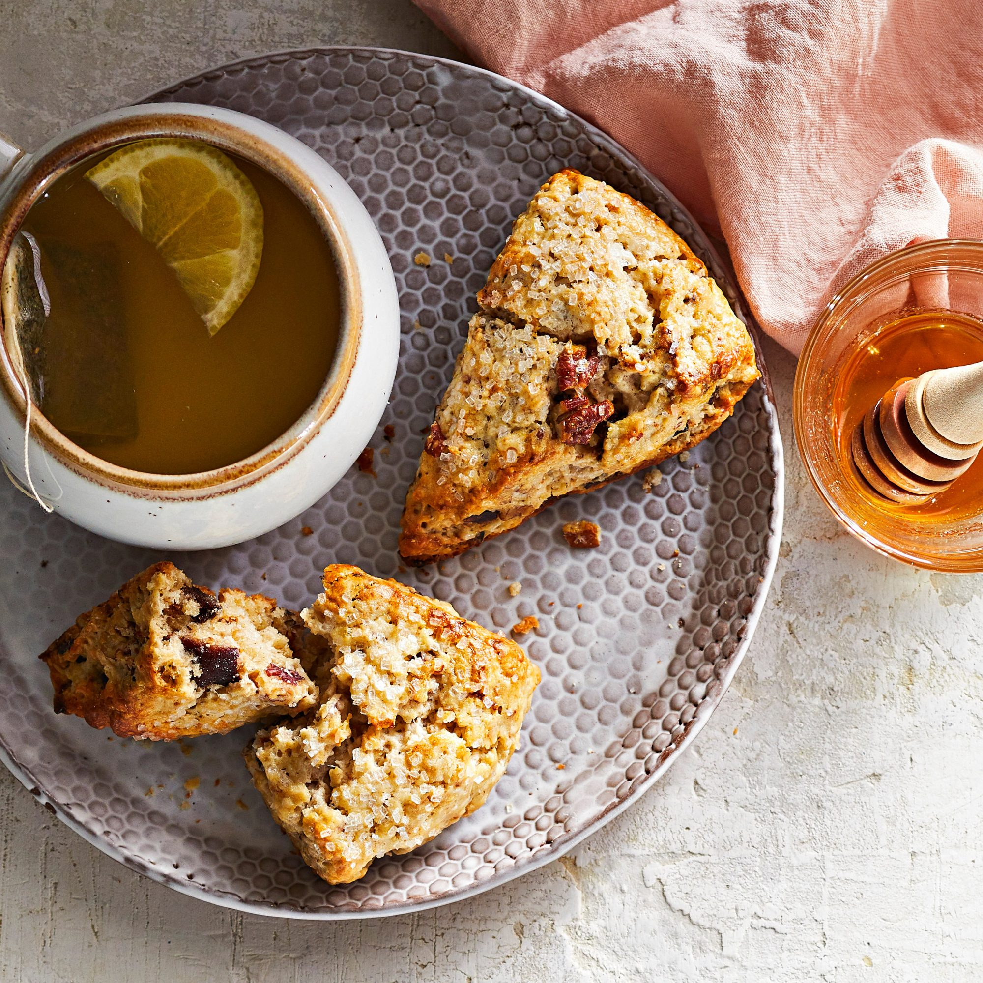 Fig and Pecan Scones