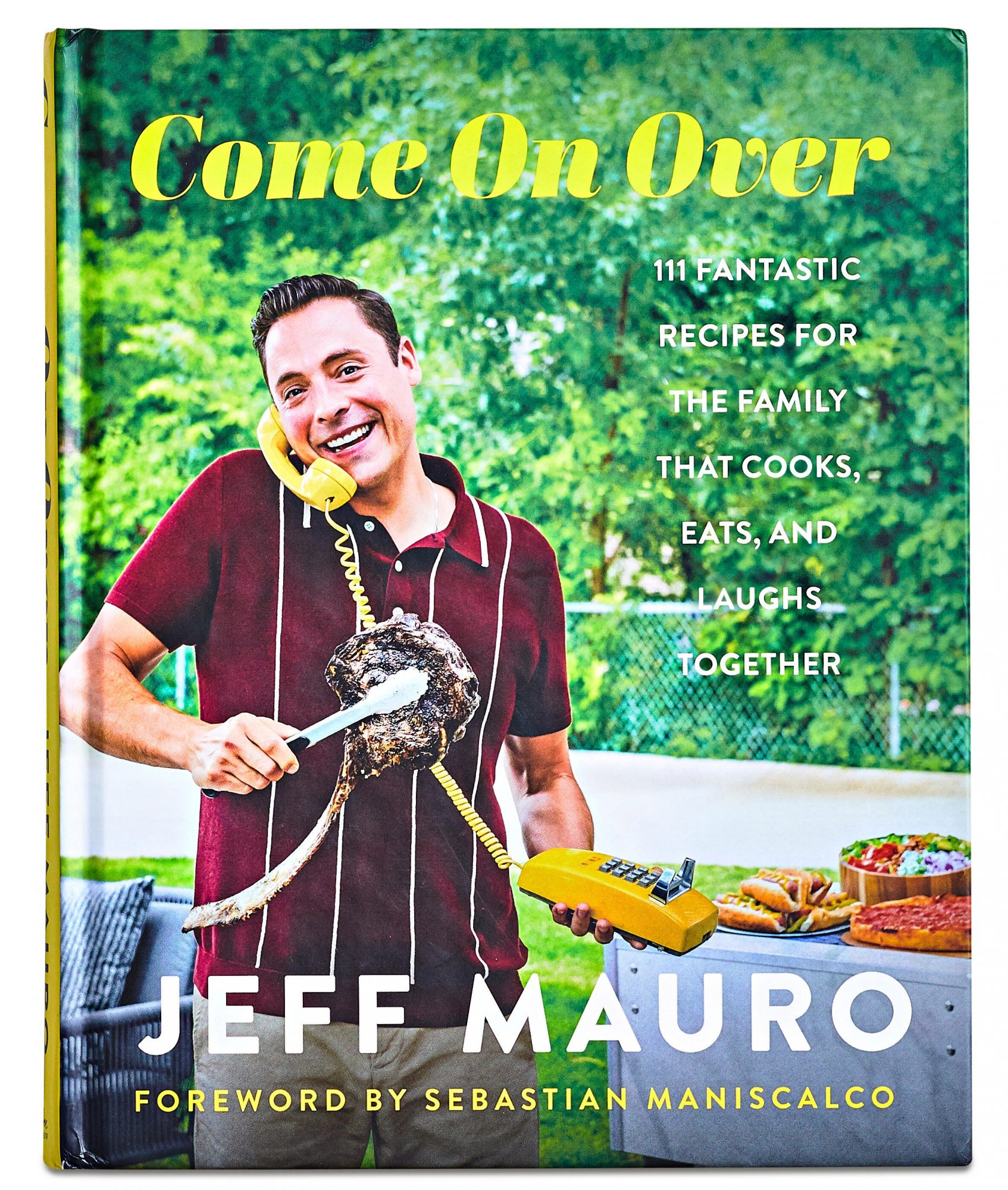 Come On Over cookbook by Jeff Mauro