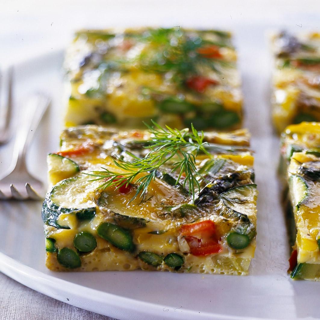 Asparagus-Zucchini Frittata