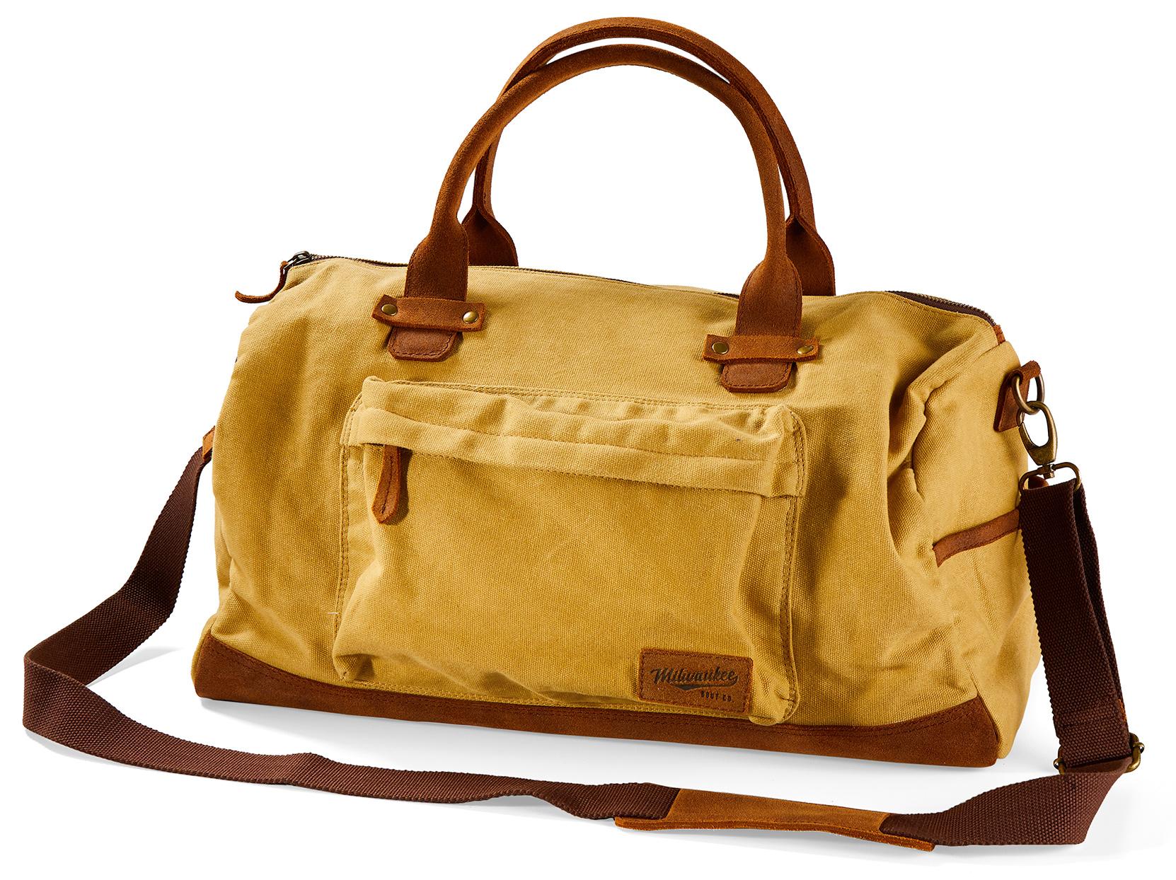 cream city duffel weekender bag