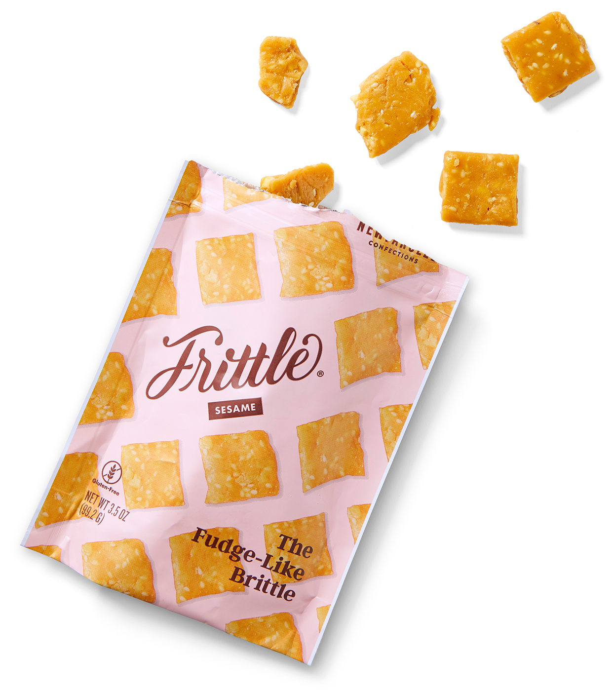 frittle brittle snack package bites