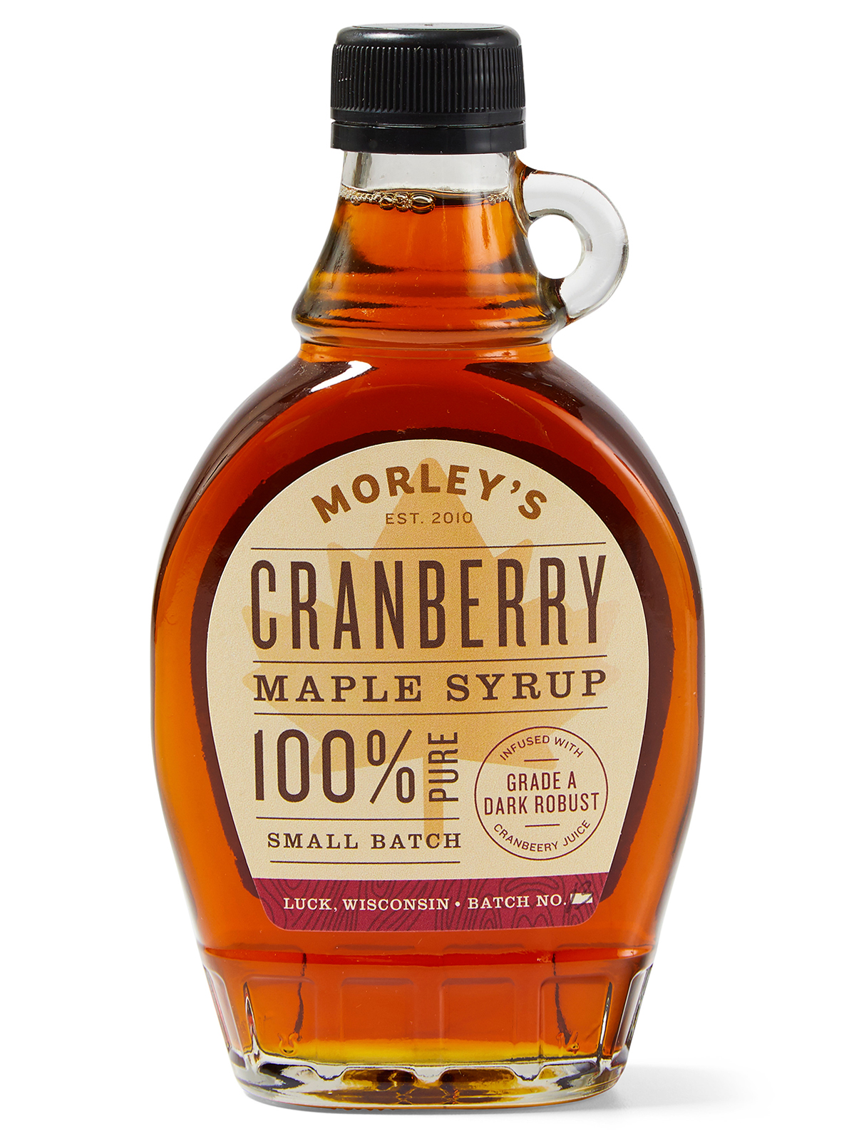 morley's cranberry pure maple syrup