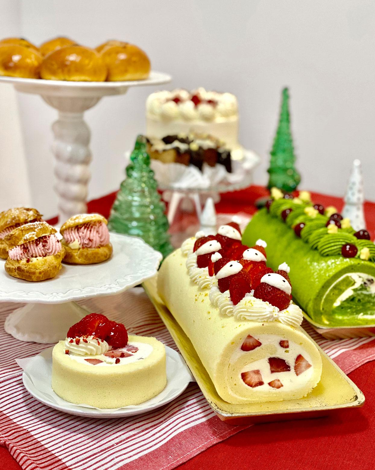 Suzu's Bakery dessert assortment