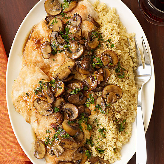 Chicken Scaloppine al Marsala