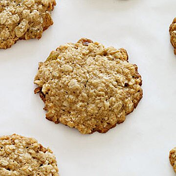 Sugar Free Coconut Oatmeal Raisin Cookies