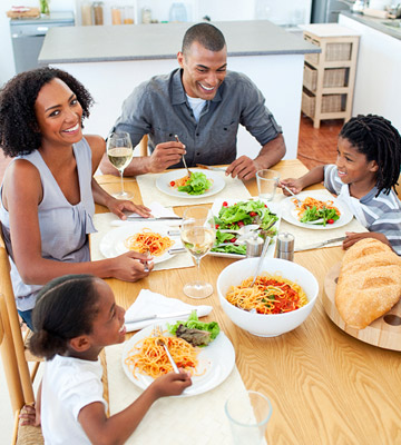 Healthy Kid Habit: Sit Down for Meals (Even If They're Quick)