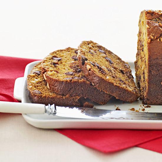 Chocolate Chip Pumpkin Loaf
