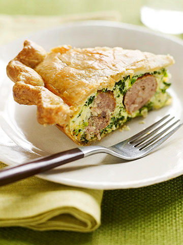 Easy Italian Sausage Pie