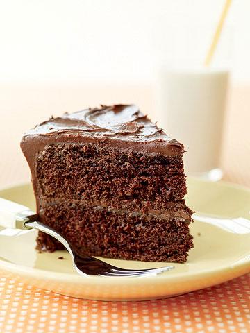 Double Fudge Layer Cake