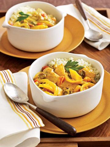 Caribbean Chicken Curry