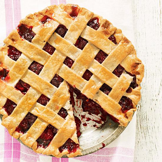 Cherry Raspberry Pie