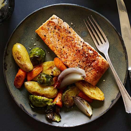 Sheet Pan Smoked Paprika Salmon