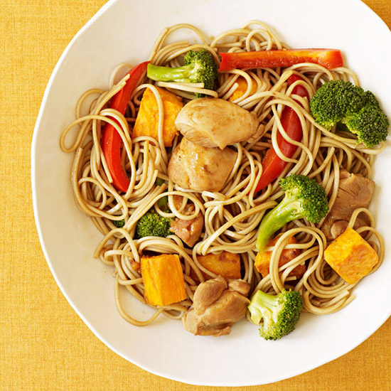 Chicken Teriyaki & Fall Vegetables