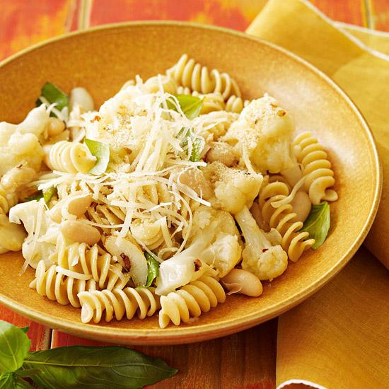 Rotini & Cauliflower