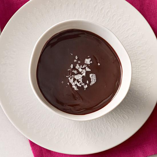 Chocolate Pots de Creme with Seat Salt