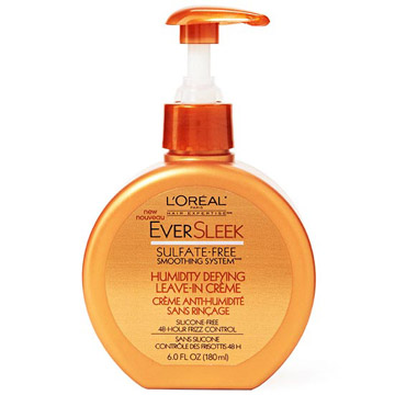 L'Oreal Paris EverSleek Humidity Defying Leave-In Creme