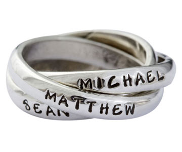 Name Ring Triple