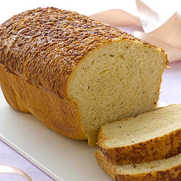 Rosemary Asiago-Laced Bread