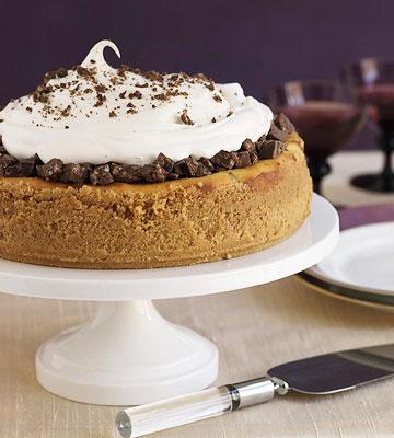 Chocolate-Crunch Cheesecake