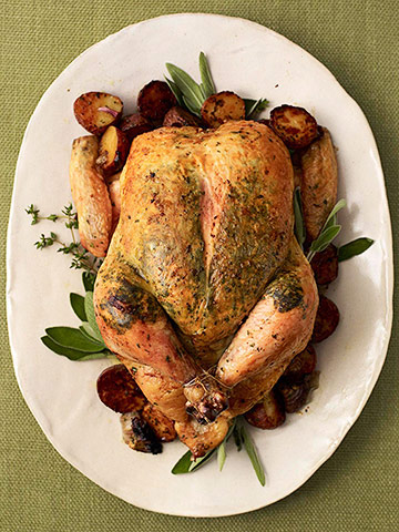 Herb-Roasted Chicken