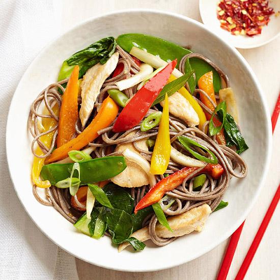 Chicken Veggie Noodle Bowl