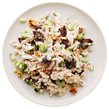 Chicken Salad with Barley and Figs