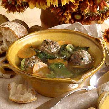 Meatball Escarole Soup