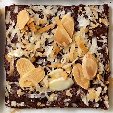Almond-Coconut Brownies