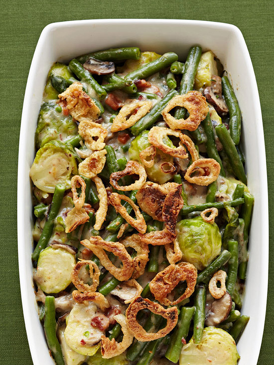 Green Beans & Brussels Sprouts