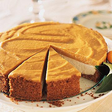 Pumpkin Chiffon Cheesecake