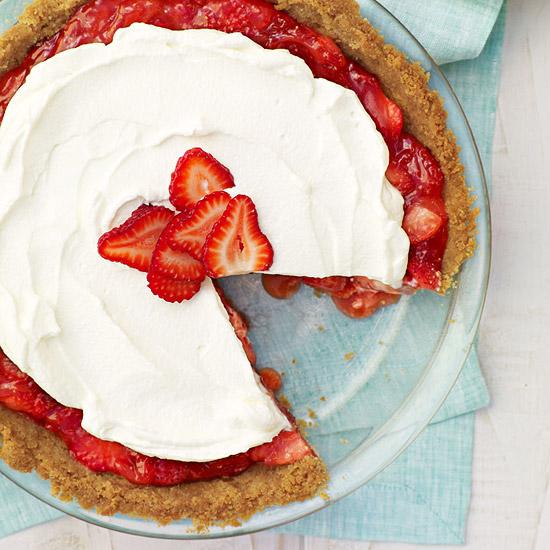 Creamy Strawberry Pie