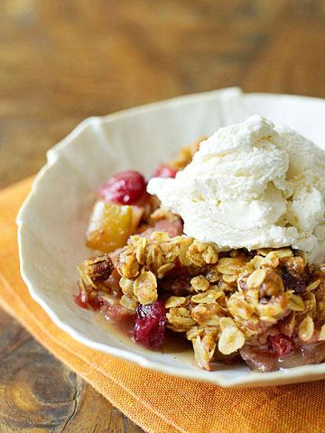 Cranberry-Apple Crisp
