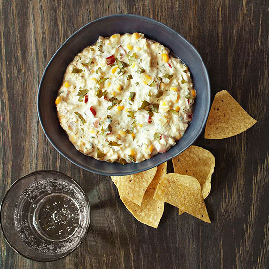 Green Chili and Corn Dip